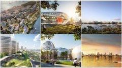Net City: la ciudad futurista sin automóviles en China