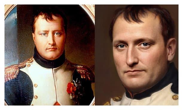 Retrato realista Napoleon Bonaparte