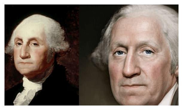 Retratos realistas George Washington