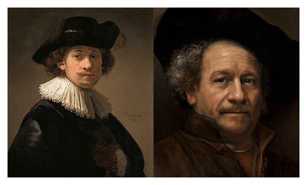 Retratos realistas Rembrandt