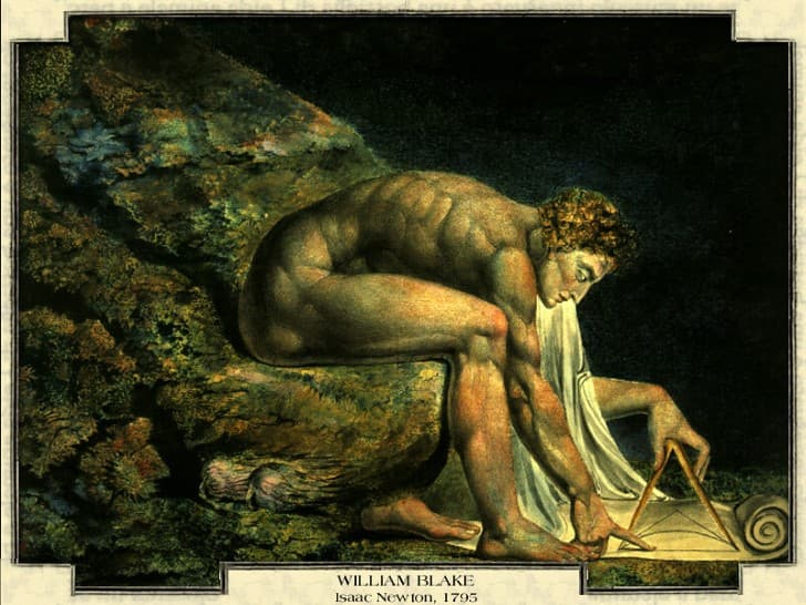 William Blake Isaac Newton, 1795