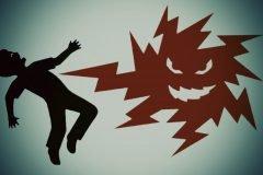 descarga electrica peligro