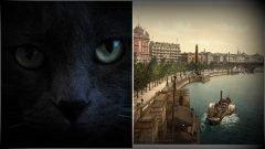 Gato con cuernos en Londres