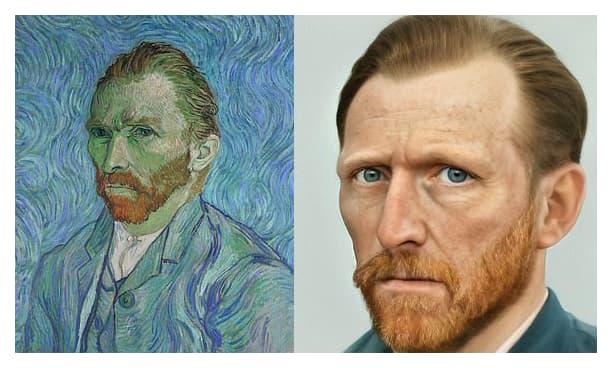 fotografia de Vincent Van Gogh
