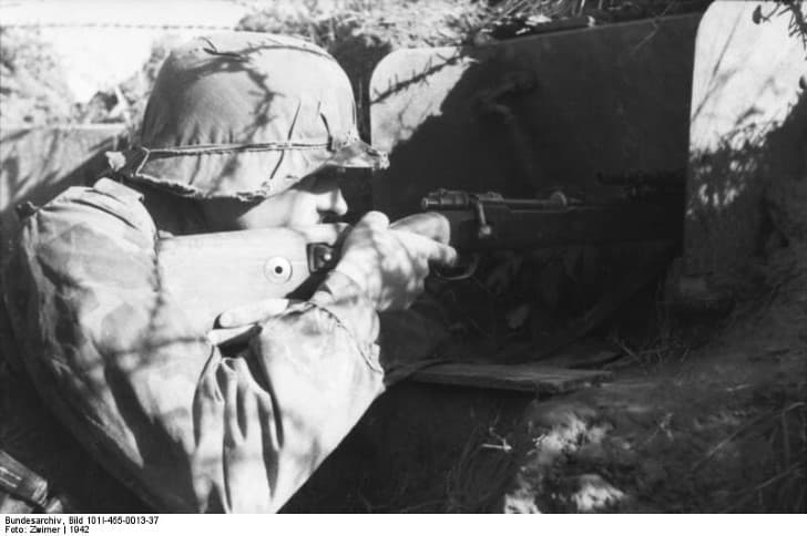 francotirador aleman