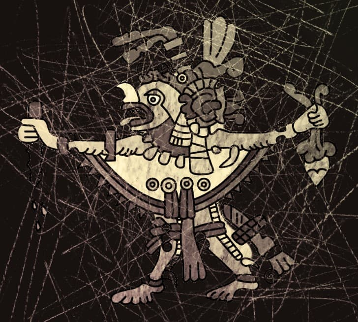 representacion del dios Camazotz