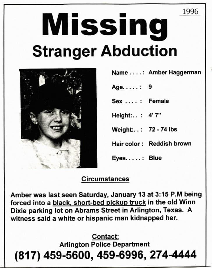 Amber Hagerman Perdida