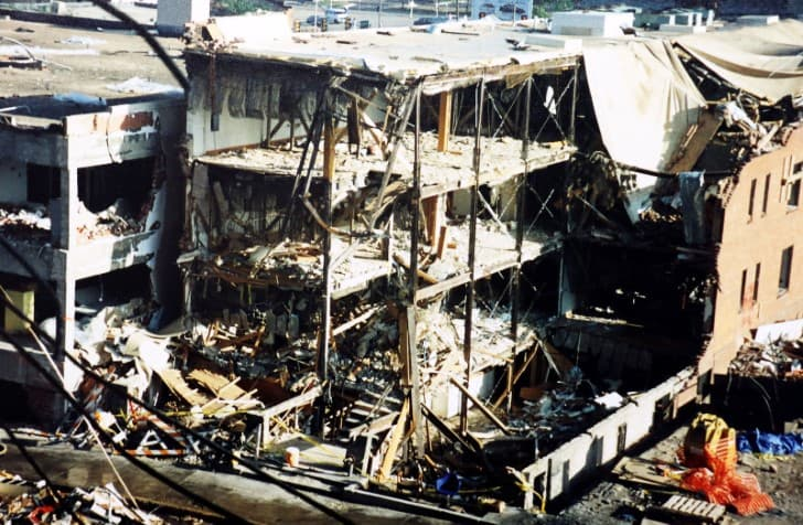 Oklahoma City explosion de 1995