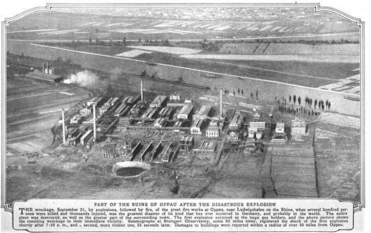 Oppau explosion de 1921