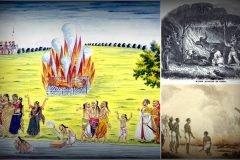 Ritual Sati de la India