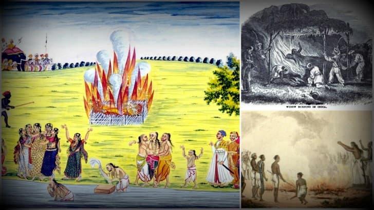 Ritual Sati de la India(1)
