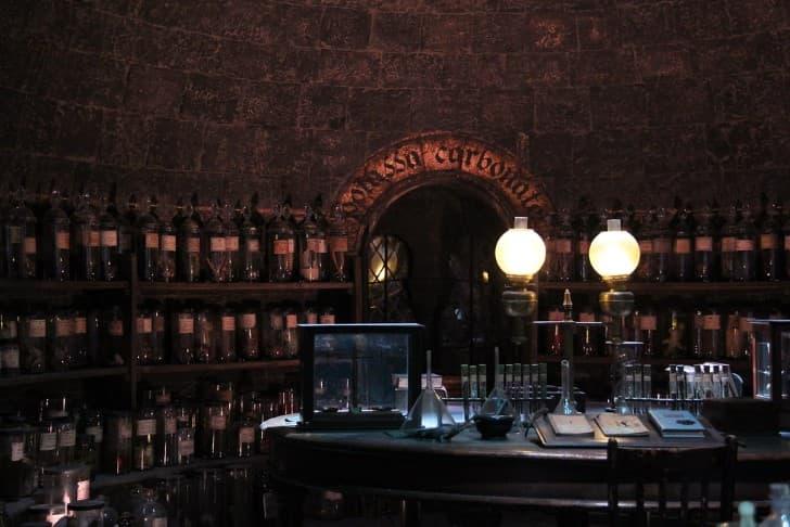laboratorio antiguo