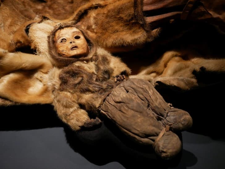 momia bebe Qilakitsoq(1)