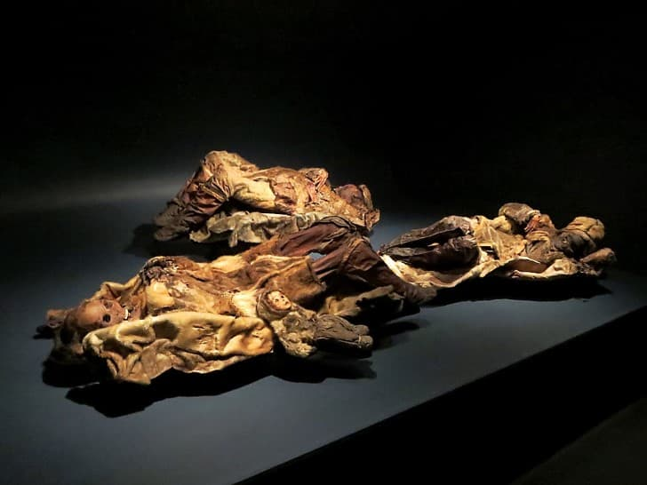 momias encontradas en groelandia