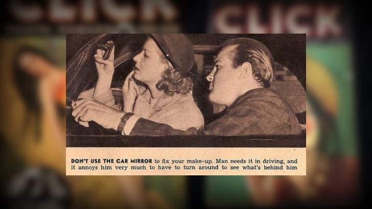 no maquillarse en el auto tips de ligue 1930