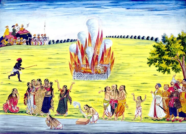 pintura practica del sati