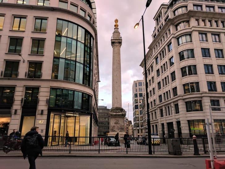 El Monumento de Londres