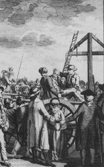 Joseph Samuel ejecucion