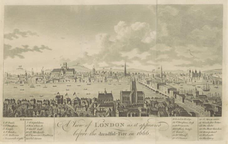 Londres antes de 1666