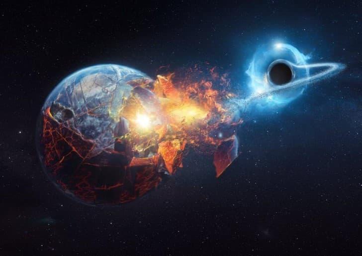 agujero negro destruye la tierra(1)