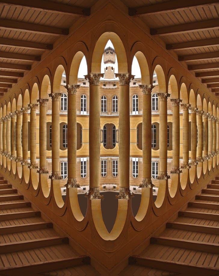 arquitectura simetrica