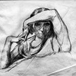 dibujo de una mujer