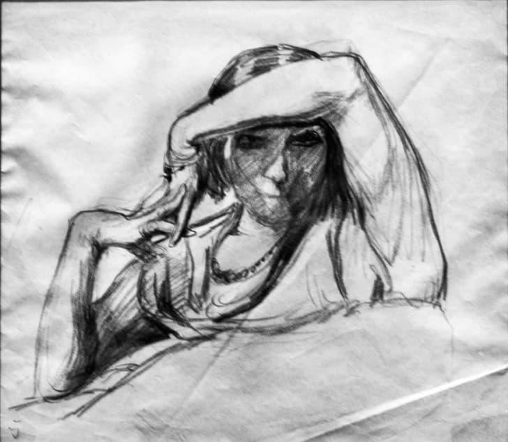 dibujo de una mujer(1)
