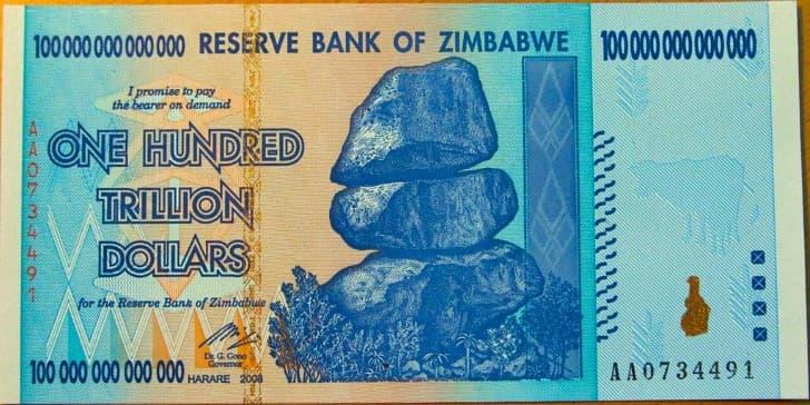 dolar de zimbabue inflacion