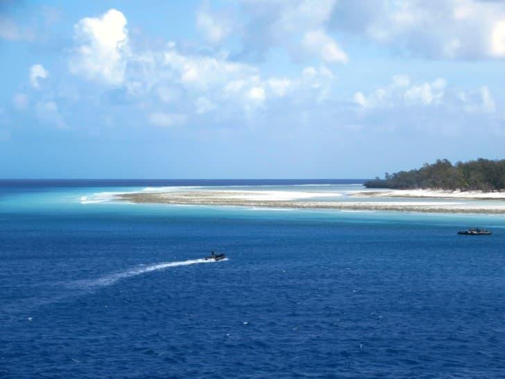 Atolón de Aldabra en el Océano Índico