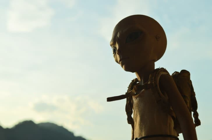 extraterrestre en miniatura
