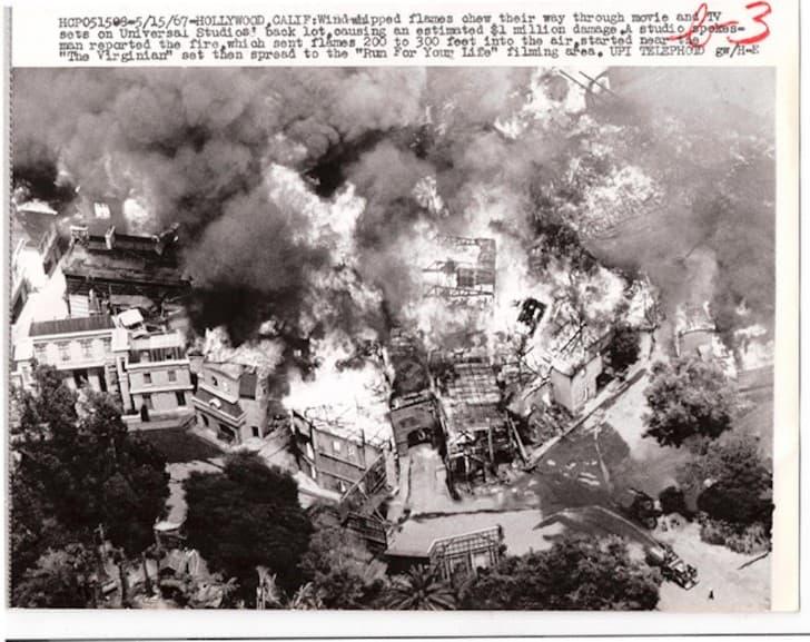 incendio MGM en 1967