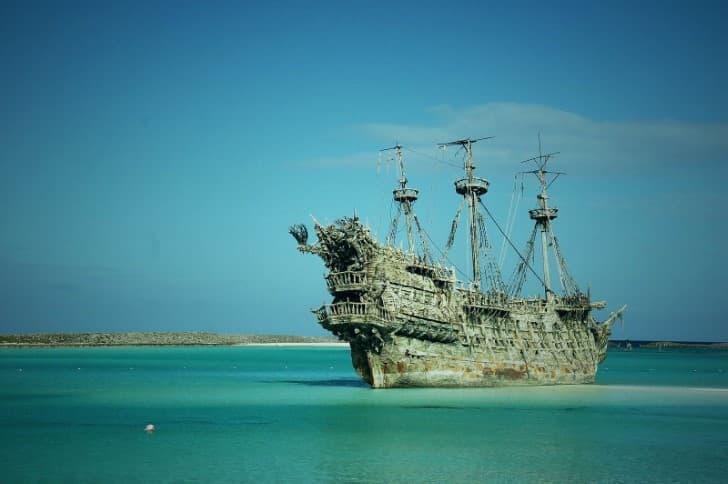 barco el holandes errante