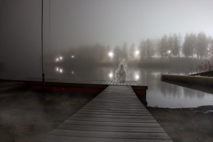 el fantasma del lago