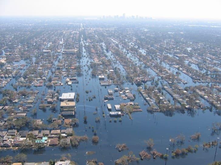 inundaciones huracan katrina 2005