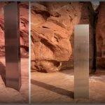 monolito metálico aparece en Utah