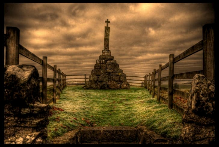 monumento a Maggie Wall