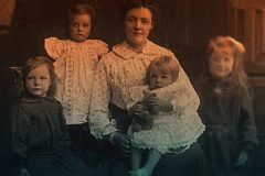 niños fantasmas