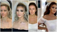 20 fotografías de novias transformadas por el maquillaje