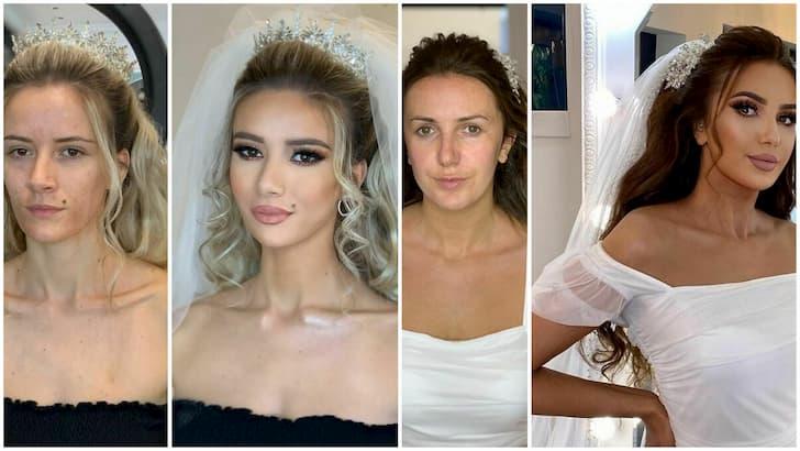 novias transformadas por el maquillaje(1)