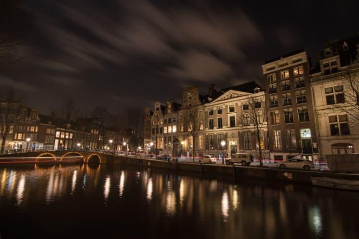 Amsterdam por las noches