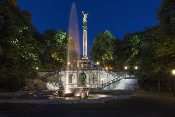 Angel de la Paz en Munich