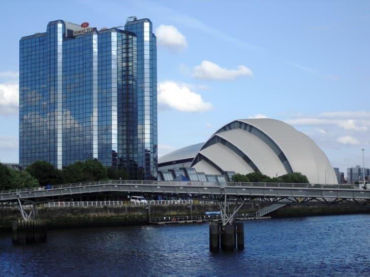 Arquitectura moderna en Glasgow
