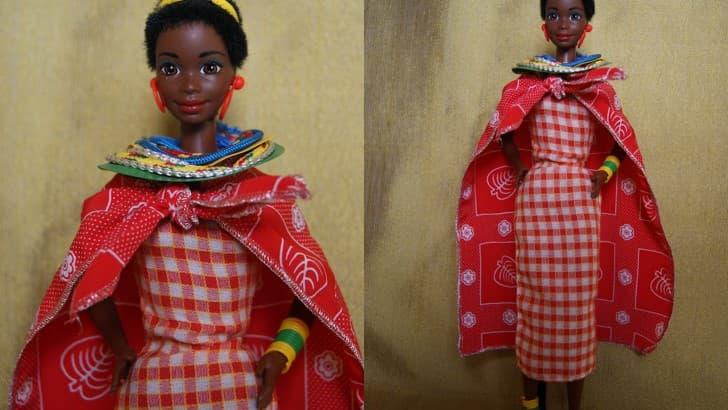 Barbie edicion de Kenia