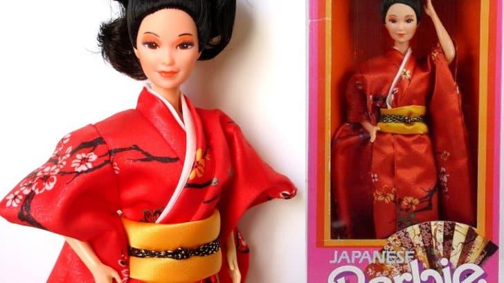 Barbie japonesa edicion 1985