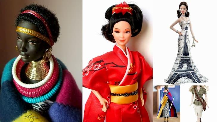 Barbie muñecas del mundo(1)