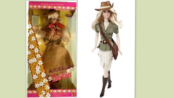 Muñeca Barbie de Australia ediciones