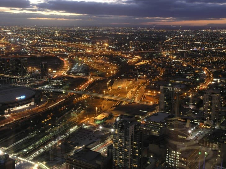 Paisaje de Melbourne