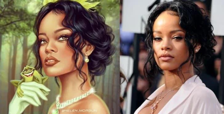Tiana es Rihanna