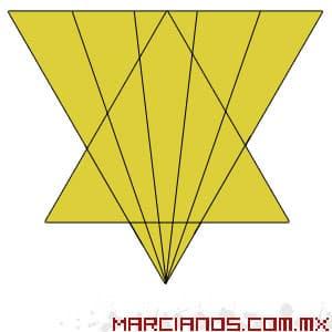 acertijo triangulos