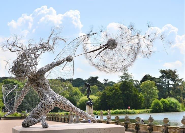 esculturas de alambre hadas (1)